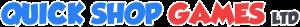Quick Shop Games LTD Logo