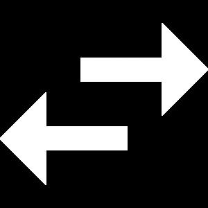 Horizontal Arrows Icon